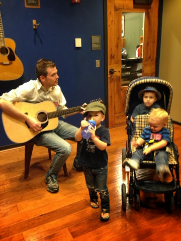 don roberts playing guitar for kids