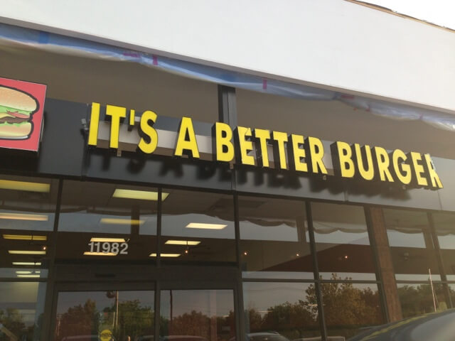 its a better burger