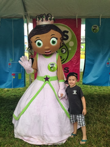 boy and princess presto from super why