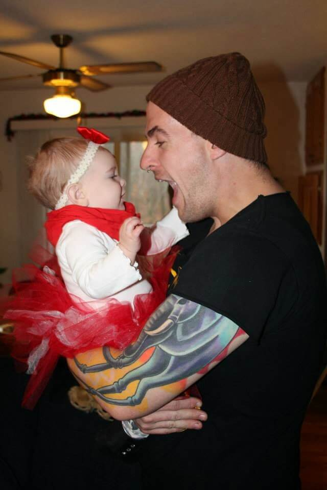 uncle and baby