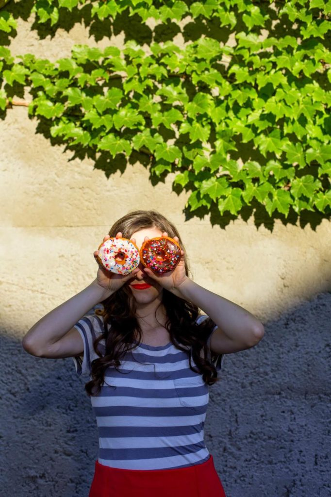 donut eyes photography prop