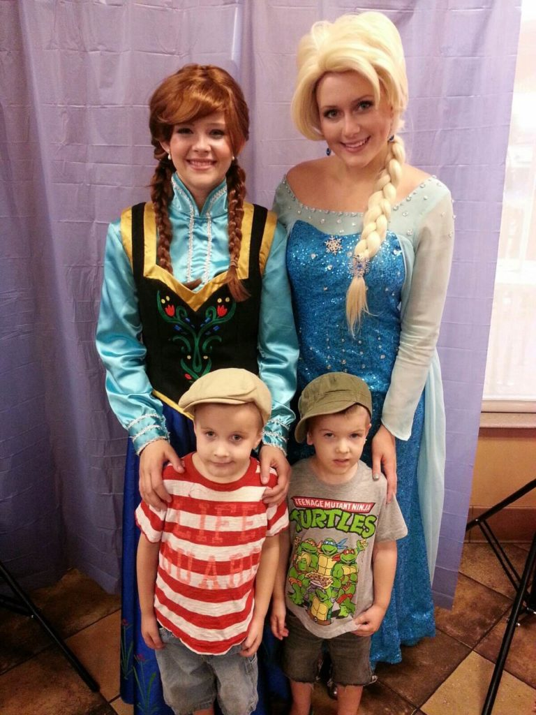 kids with frozen