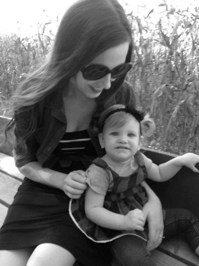black and white photography mom and cute baby