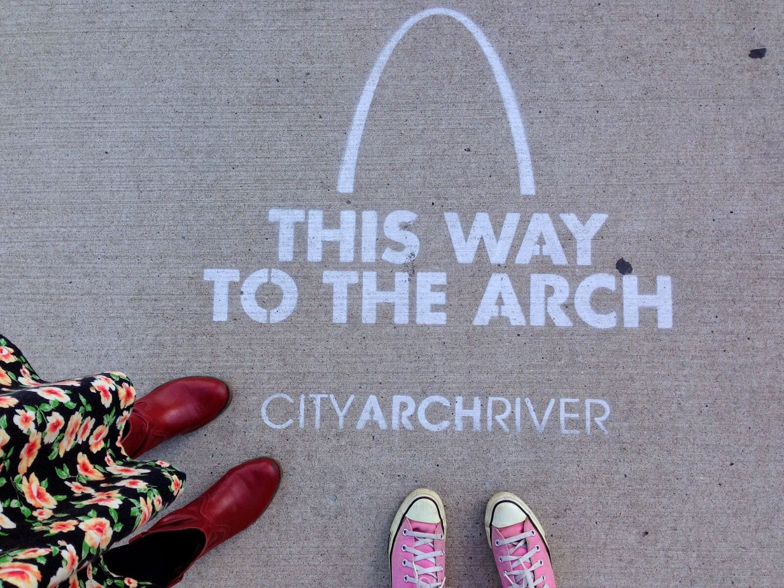 directions to the arch