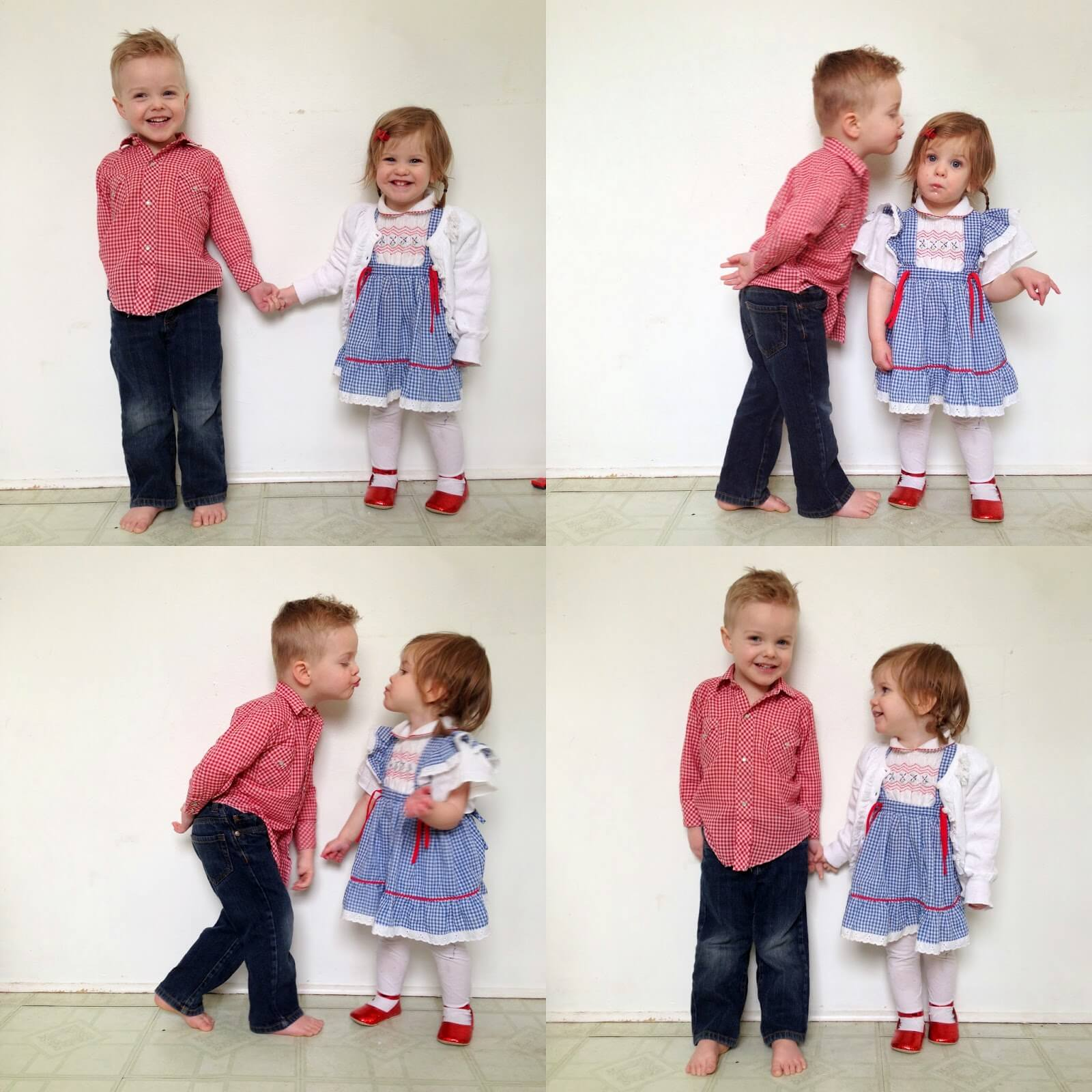 cute bother and sister