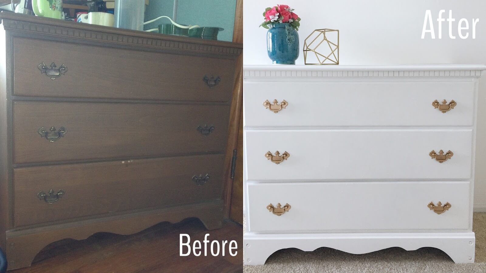 painting our dresser