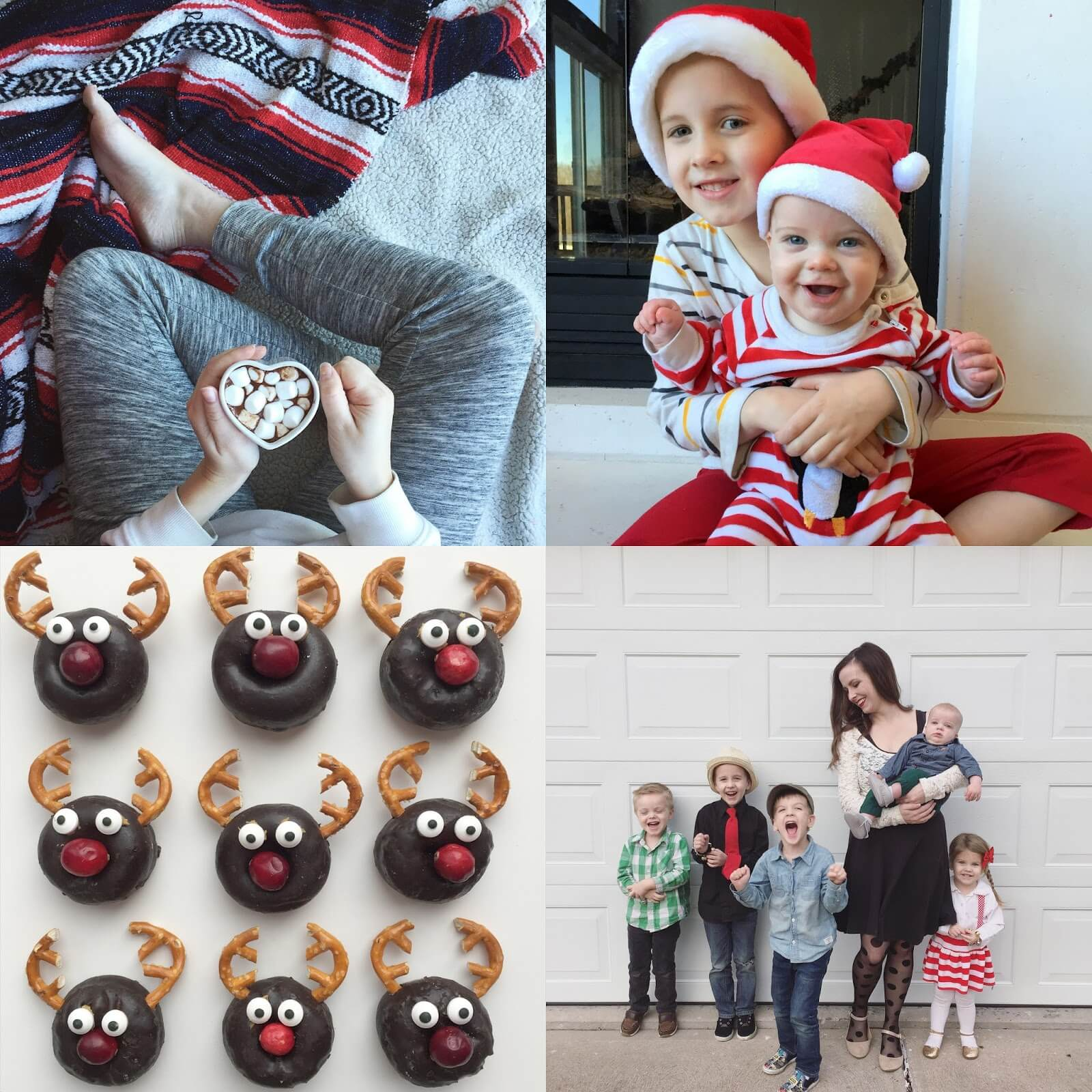 reindeer donuts and christmas treats