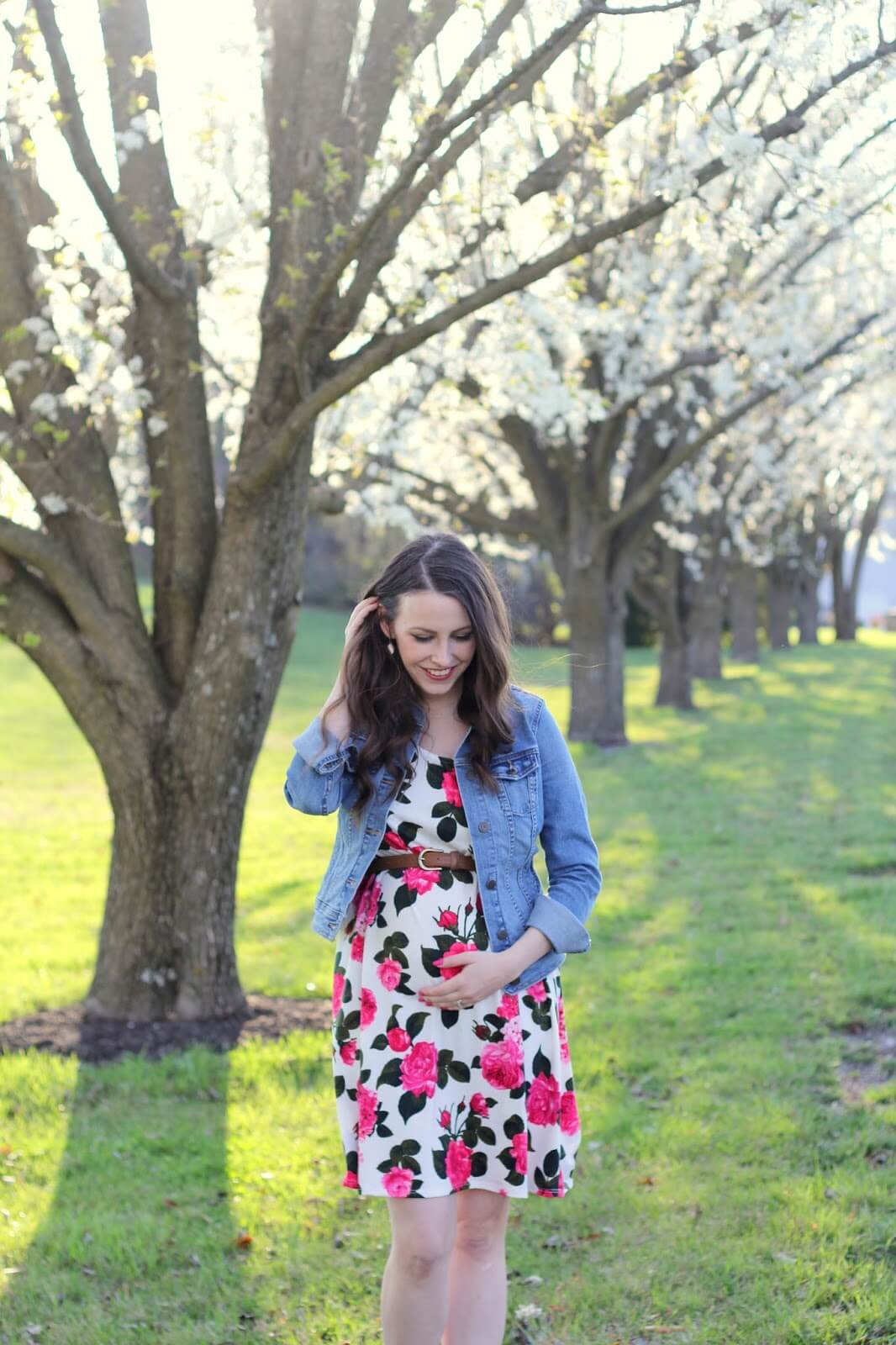 12 weeks with pinkblush maternity raising roberts floral pregnancy dress from pink blush maternity ombrellifo Gallery