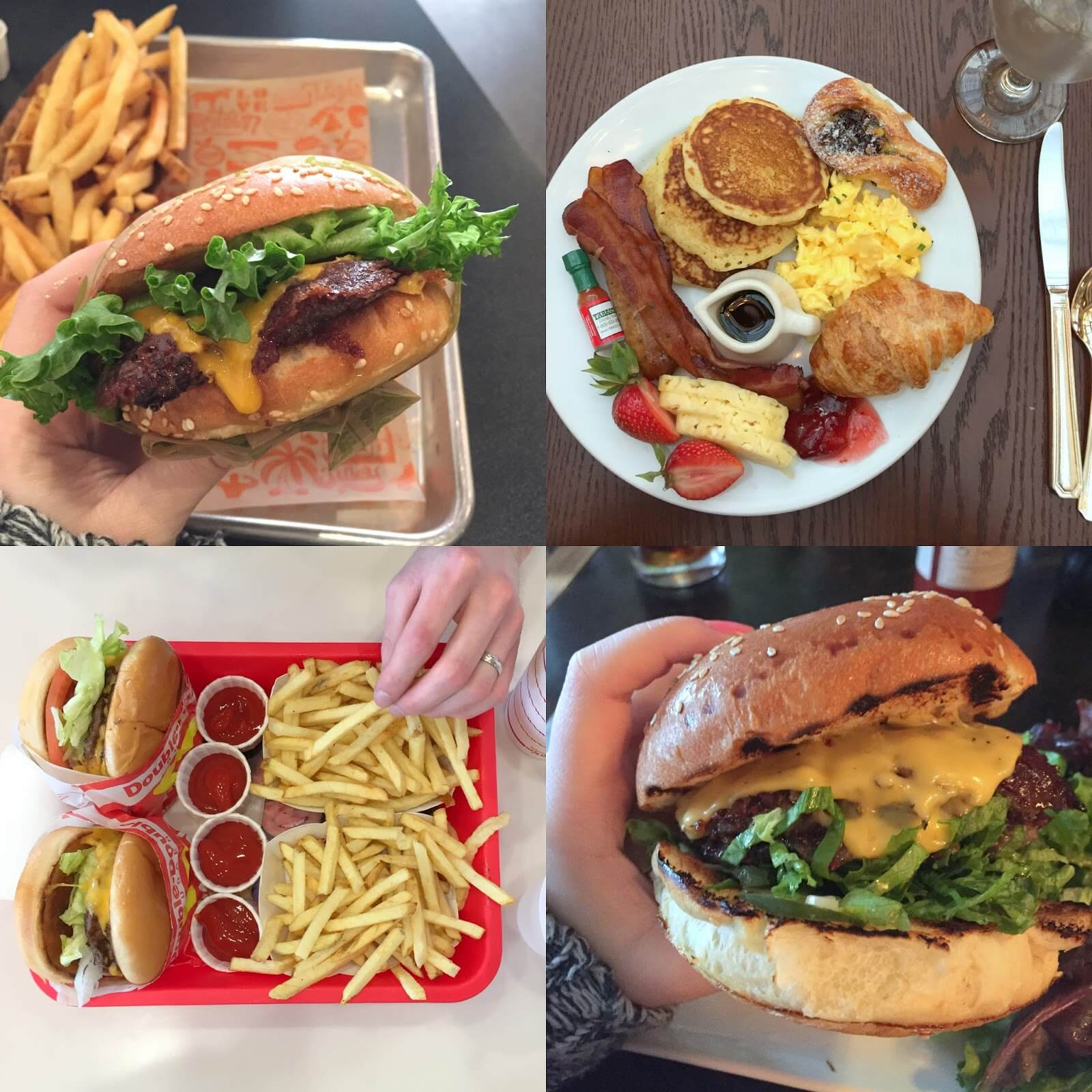 cheeseburgers and other san fran food