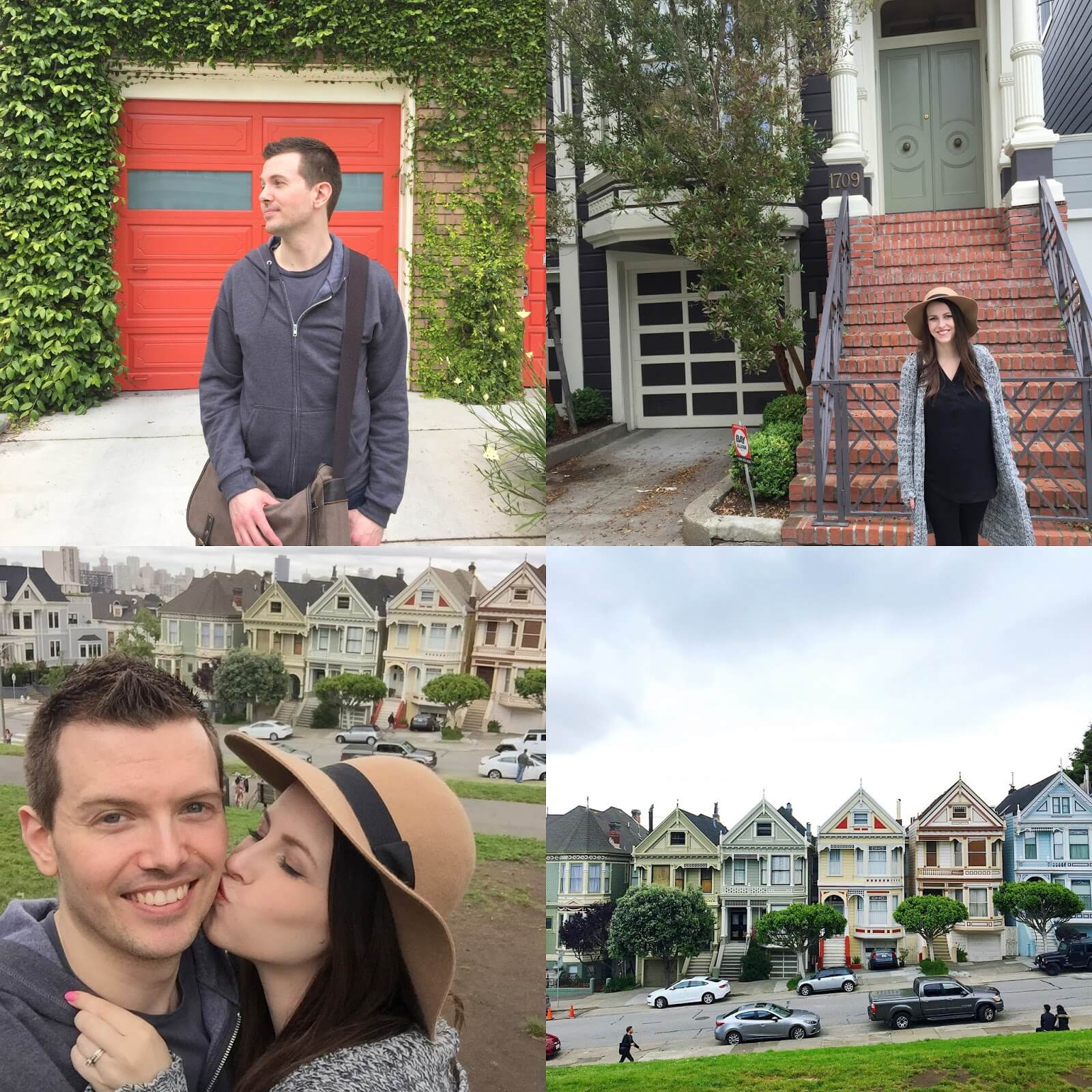 full house house and painted ladies san fran