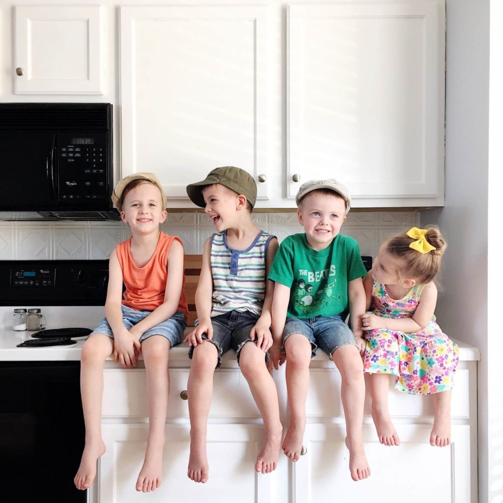 roberts kids about to make pizza