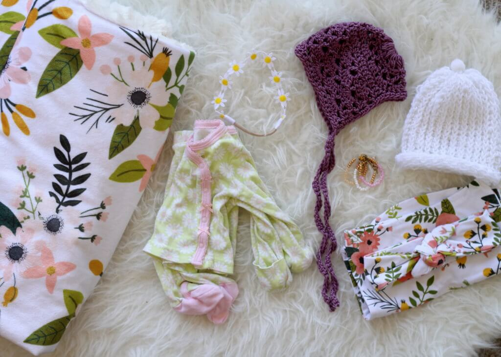 newborn baby girl hospital items packing list