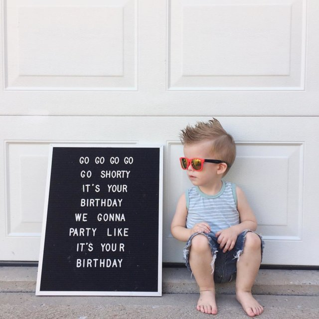 We have a 2 year old! Desmond may not fullyhellip