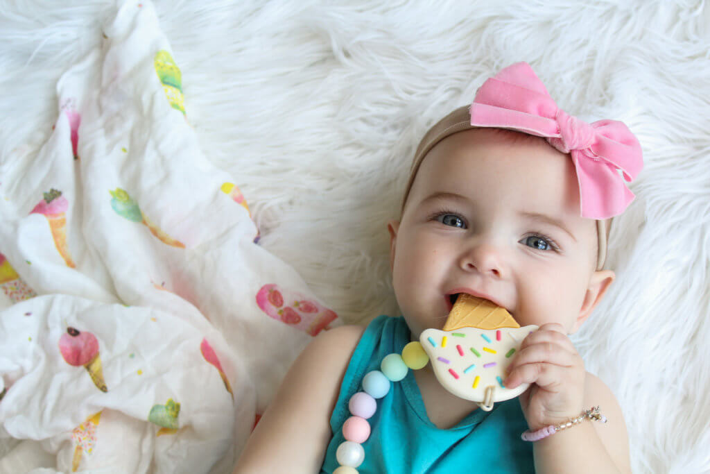 loulou LOLLIPOP cute baby teether