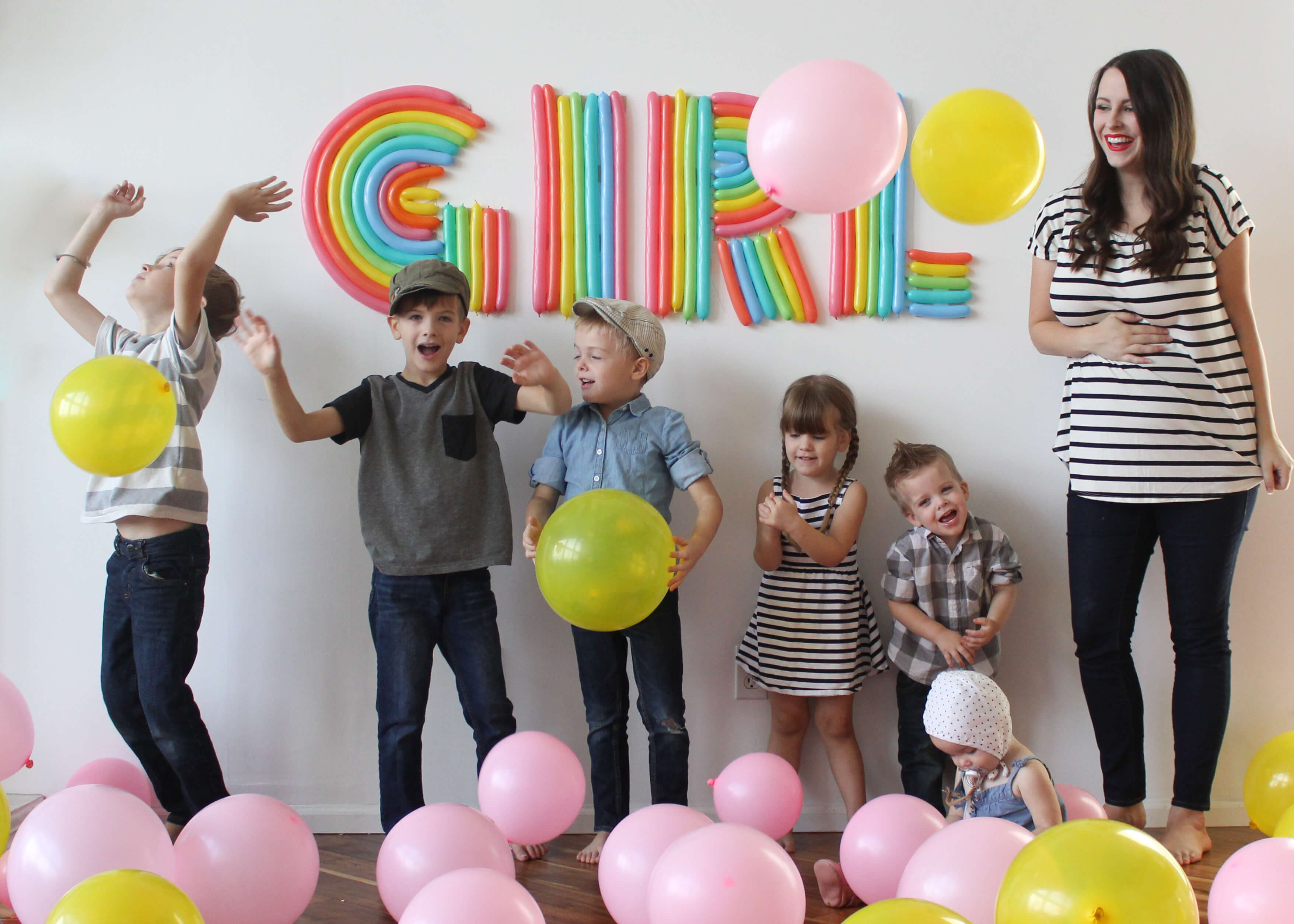 gender reveal party colors